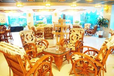 Cà phê của khách sạn Green World Nha Trang.
