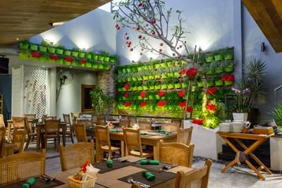 Không gian ẩm thực sang trọng và tinh tế.