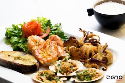 Món ăn của nhà hàng Marco's Nha Trang đa dạng.