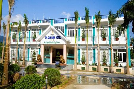 Khách sạn trong KDL Suối khoáng nóng Cam Ranh.