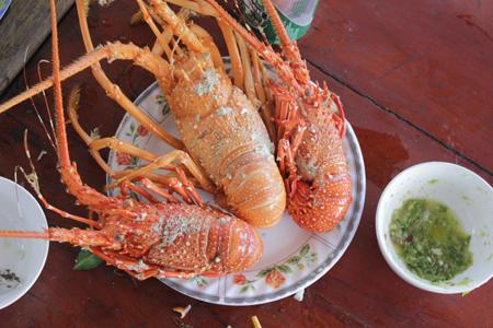 Đặc sản đảo Bình Hưng.