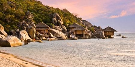 Vịnh Ninh Vân cho bạn một cảm giác thật gần gũi và thân mật.